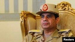 압델 파타 엘시시 이집트 국방장관 (자료사진)