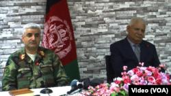 دو مقام بلندپایه اردوی افغان تأکید کردند که در استعفای آنان، اِعمال فشاری در کار نبوده است