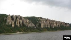 西伯利亚自然风光(美国之音白桦拍摄)