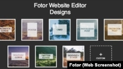 Fotor Website