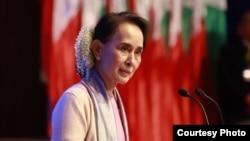 ႏိုင္ငံေတာ္၏ အတုိင္ပင္ခံပုဂၢိဳလ္ႏွင့္ ကယားျပည္နယ္ ေဒသခံလူငယ္မ်ား ၿငိမ္းခ်မ္းေရးစကား၀ိုင္းက်င္းပ (Myanmar State Counsellor Office)
