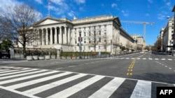 US Treasury Department building