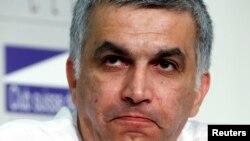 Bahrain, Nabeel Rajab, telah ditahan sejak pertengahan Juni lalu (foto: dok).