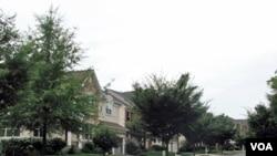 马里兰州蒙哥马利县一处居民区