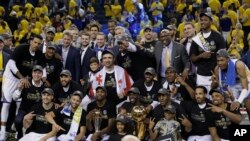 En images : Golden State champion NBA 2017
