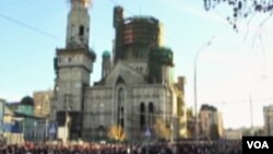 Rekonstrukcija jedne od svega 4 džamije u Moskvi
