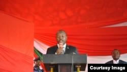 Le president burundais Pierre Nkurunziza.