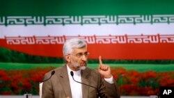 Trưởng đoàn đàm phán hạt nhân Iran, đồng thời cũng là ứng cử viên Tổng thống Saeed Jalili