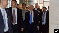 美国防部长马蒂斯26号抵达中国访问
