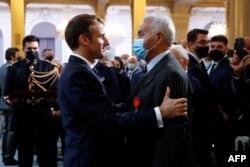 Macron ve Salah Abdelkerim