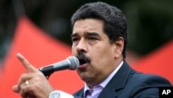 El presidente venezolano, Nicolás Maduro, amenaza a la oposición con una fuerte represión.