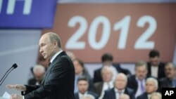 Prezidentlikka nomzod, Vladimir Putin, fevral, 2012-yil