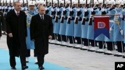 Реджеп Тайип Эрдоган и Владимир Путин (архив)