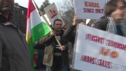 Kurd li Washington ÊrîşênTirkîyê Şermezar Dikin
