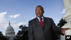 John Lewis, tokoh pejuang diskriminasi rasial di AS, terlihat di Capitol Hill di Washington. (Foto: AP/Lawrence Jackson)