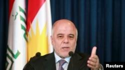 Le Premier ministre Haider al-Abadi (archives)
