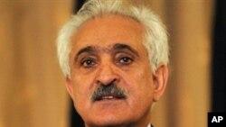 阿富汗外交部长兰金.达德法尔.斯潘塔
