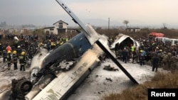 Bangladesh plane crashed in Nepal