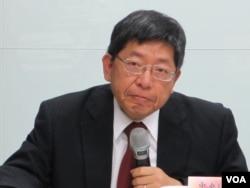 台湾中央研究院欧美所研究员 林正义(美国之音张永泰拍摄)