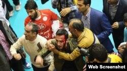 Tehran - 2015 İran milli voleybol çempionatının finalı