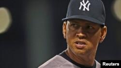 미 프로야구 뉴욕 양키스의 알렉스 로드리게스 선수가 지난해 8월 보스턴 레드삭스와의 경기에 출전했다.