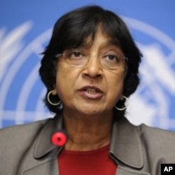United Nations High Commissioner for Human Rights Navy Pillay (File)