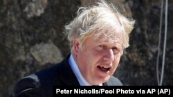 Waziri Mkuu wa Uingereza Boris Johnson