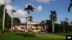 U.S. President Donald Trump's Mar-a-Lago resort is seen in Palm Beach, Florida, Nov. 27, 2016.