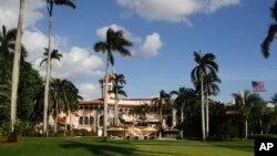 川普與習近平本週舉行峰會的佛羅里達海湖莊園(資料圖片)