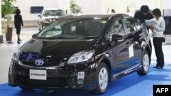 Xe hybrid Prius của hãng Toyota