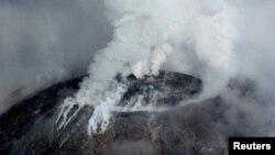 Letusan Gunung Colima di Meksiko. (Foto: Dok)