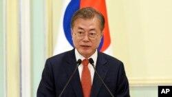 Presiden Korea Selatan, Moon Jae In (Foto: dok).