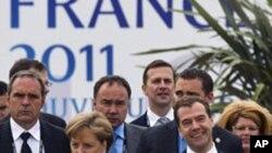 世界八个最发达工业化国家领导人结束高峰会