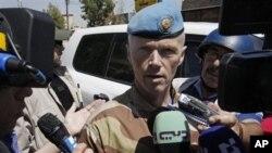 Người đứng đầu phái đoàn quan sát viên LHQ tại Syria, Tướng Robert Mood