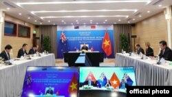 Hội đàm cấp cao giữa Thủ Tướng Việt Nam Nguyễn Xuân Phúc và Thủ Tướng New Zealand Jacinda Ardern ngày 22/7/2020