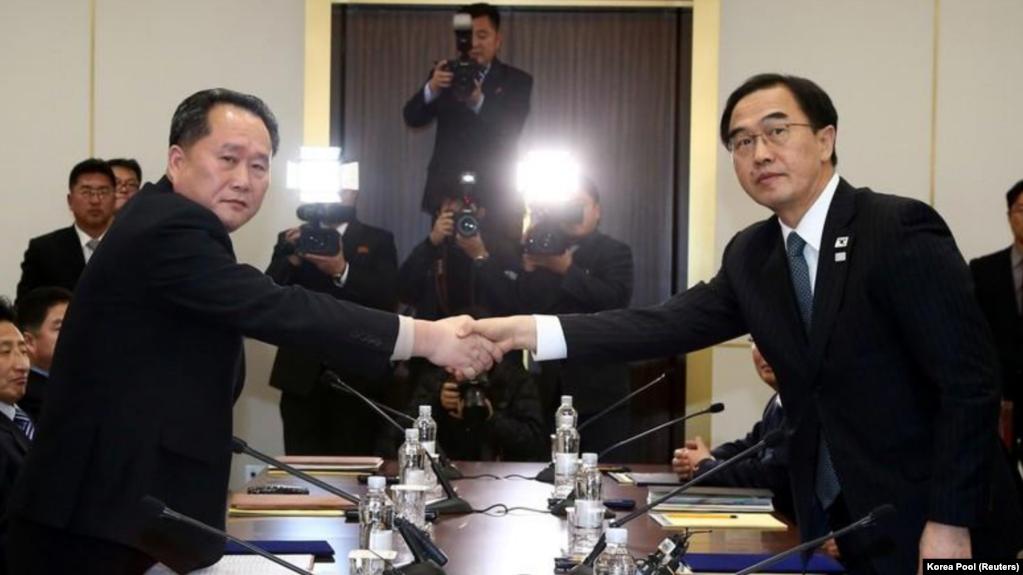 Corea del Norte y Corea del Sur acordaron tener conversaciones el 15 de enero en el Pabellón Tongil en la frontera entre ambos países