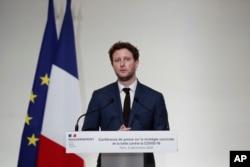 Fransa AB İşlerinden Sorumlu Devlet Bakanı Clement Beaune