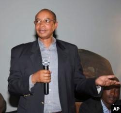 Undated photo taken in Kigale, Rwanda, of Patrick Karegeya, Rwanda's former spy chief who was found dead, possibly strangled, in a hotel in South Africa.
