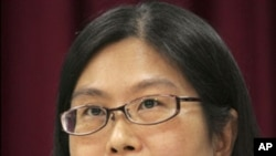 Taiwan's Mainland Affairs Council Chairwoman Lai Shin-yuan, (File).