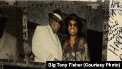 Big Tony Fisher and Chuck Brown.