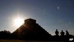 Hram drevnih Maja u Meksiku