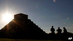 En la imagen, Chichen Itzá en México.