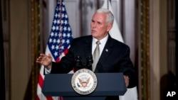 El vicepresidente Pence quiere poner énfasis en la crisis humanitaria en Venezuela durante su viaje.