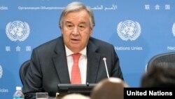 Sekjen PBB, Antonio Guterres mengatakan kekerasan terhadap etnis Rohingya di Myanmar dapat digambarkan sebagai pembersihan etnis.
