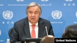 Antonio Guterres, Umunyamabanga mukuru wa ONU