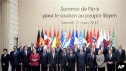 لیبیا کےبحران پرپیرس میں ہونے والا اجلاس: امریکی، یورپی اورعرب راہنماؤں کی شرکت