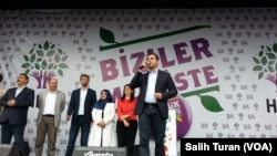 HDP rally in Istanbul, Turkey, Monday June 8, 2015