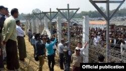 ဘဂၤလား-ျမန္မာ နယ္စပ္မ်ဥ္းေဒသက ရိုဟင္ဂ်ာစခန္း (MOI)