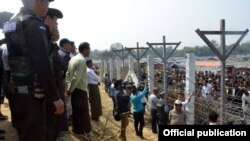 Rohingya refugees camp border (MOI)