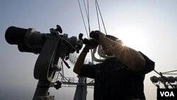 El portaaviones George Washington ya estuvo en maniobras navales con Corea del Sur en el Mar Amarillo.